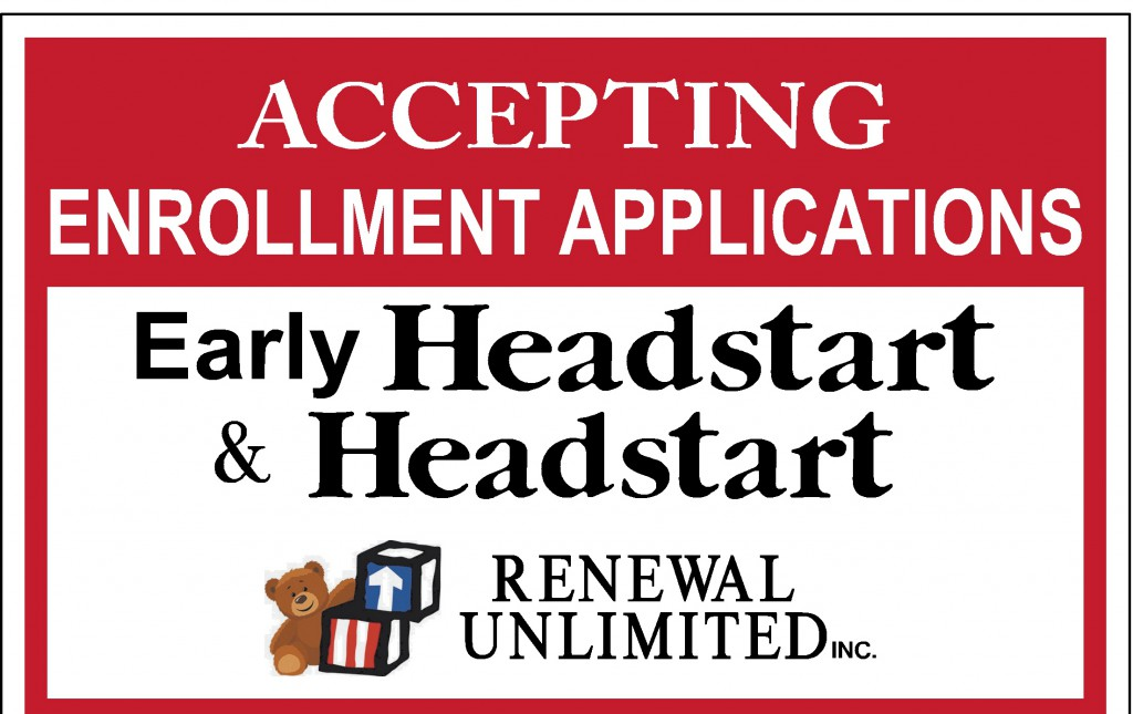 18 x 24 Headstart Accepting Enrollment proof